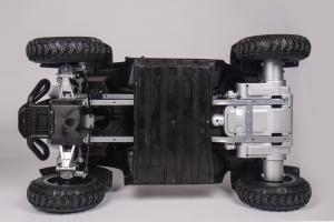ATV Electric pentru copii Dooma BJ268A 90W 12V cu ROTI MOI #Alb4