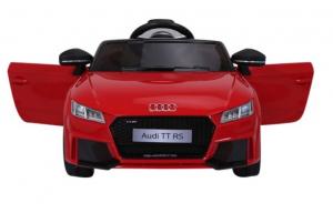 Masinuta electrica Audi TT RS 2x 30W STANDARD 12V #Rosu2