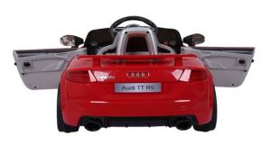 Masinuta electrica Audi TT RS 2x 30W STANDARD 12V #Rosu3