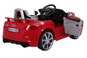 Masinuta electrica Audi TT RS 2x 30W STANDARD 12V #Rosu4
