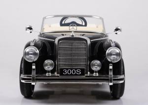 Mercedes 300S OldTimer, negru pentru copii 2-6 ani [6]