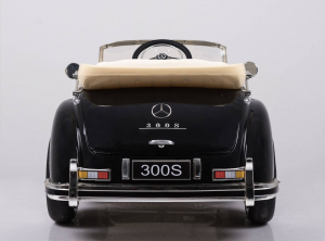 Kinderauto Mercedes 300S Oldtimer Cu ROTI MOI #Negru8
