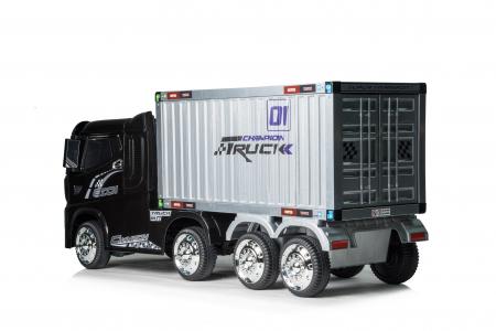 Camion electrica cu semiremorca BJJ2011 4x4 140W PREMIUM #Negru7