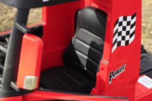 Camion electric Mercedes ACTROS 4x4 180W 12V PREMIUM #Rosu13