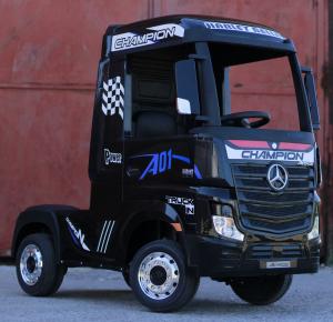 Camion Mercedes ACTROS 4x4 STANDARD 4x45W #Negru6