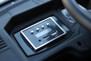 Camion Mercedes ACTROS 4x4 STANDARD 4x45W #Negru4
