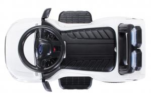 Carucior electric pentru copii 3 in 1 Ford Ranger STANDARD #Alb3