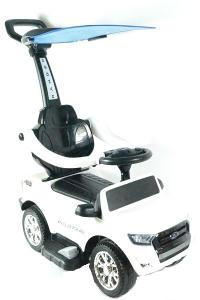 Carucior electric pentru copii 3 in 1 Ford Ranger STANDARD #Alb7