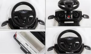 Carucior electric pentru copii 3 in 1 Ford Ranger STANDARD #Alb5