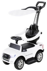 Carucior electric pentru copii 3 in 1 Ford Ranger STANDARD #Alb0