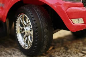 Carucior electric pentru copii 3 in 1 Ford Ranger STANDARD #Rosu13