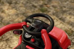 Carucior electric pentru copii 3 in 1 Ford Ranger STANDARD #Rosu6