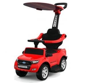 Carucior electric pentru copii 3 in 1 Ford Ranger STANDARD #Rosu0
