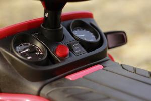 Carucior electric pentru copii 3 in 1 Ford Ranger STANDARD #Rosu9