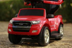 Carucior electric pentru copii 3 in 1 Ford Ranger STANDARD #Rosu2