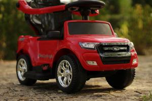 Carucior electric pentru copii 3 in 1 Ford Ranger STANDARD #Rosu3