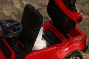 Carucior electric pentru copii 3 in 1 Ford Ranger STANDARD #Rosu10