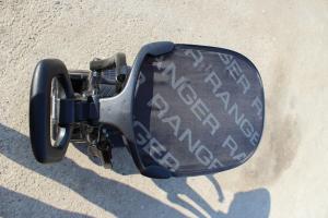 Carucior electric pentru copii 3 in 1 Ford Ranger STANDARD #Negru7