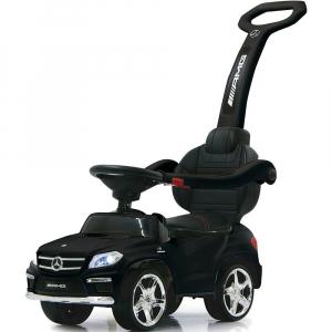 Masinuta carucior copii Mercedes GL63 AMG negru [0]