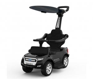 Carut pentru plimbat copii 2 in 1 Ford Ranger STANDARD #Negru0