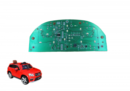 Circuit electric bord masinuta Mercede GL63 Deluxe0