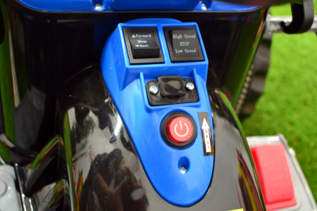 Excavator electric pentru copii 2-6 ani, albastru, 90W, 12V [6]