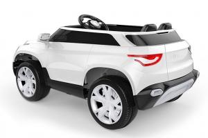Masinuta electrica Fiat FCC4 2x25W 12V STANDARD #Alb0