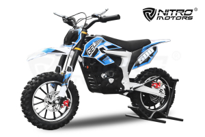Mini Motocicleta Eco Ghepard 500W 24V #Albastra0