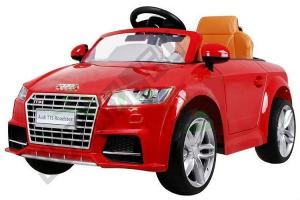 Kinderauto Audi TTS 2x 30W 12V PREMIUM #Rosu0