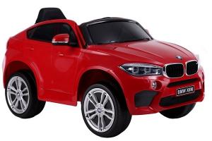 Masinuta electrica BMW X6M 2x35W 12V PREMIUM #Rosu0