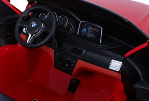 Masinuta electrica BMW X6M 12V XXL PREMIUM #Rosu4
