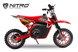 Mini Motocicleta electrica Eco Jackal 1000W 10 inch #Rosu0
