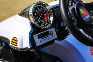 Kart Electric Dooma GO! KART 2x 35W 12V STANDARD #Alb9