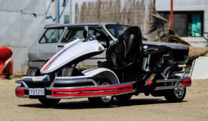 Kart Electric Dooma GO! KART 2x 35W 12V STANDARD #Alb2