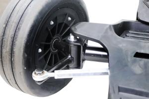 Kart electrica Eco Go Kart K1 2x 350W 54V 4Ah Lithiu-Ion #Negru10