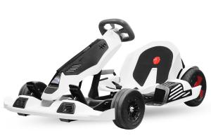 Kart electrica Eco Go Kart K1 2x 350W 54V 4Ah Lithiu-Ion #Negru0