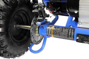 Buggy electric pentru copii NITRO Crosser 1000W 36V #Albastru6