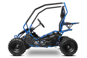 Buggy electric pentru copii NITRO Crosser 1000W 36V #Albastru1