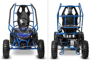 Buggy electric pentru copii NITRO Crosser 1000W 36V #Albastru2