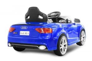 Masinuta electrica Audi RS5 2x35W STANDARD 12V MP3 #Albastru [5]
