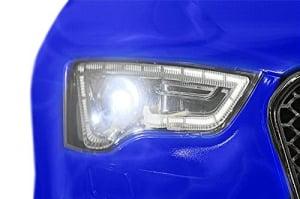 Masinuta electrica Audi RS5 2x35W STANDARD 12V MP3 #Albastru [6]