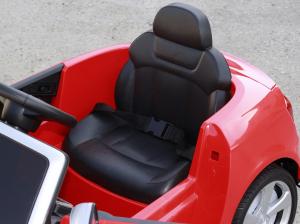 Masinuta electrica Audi S5 Cabriolet 2x35W CU ROTI MOI 12V #Rosu7