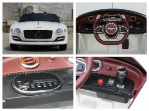 Masinuta electrica Bentley EXP12 PREMIUM #Alb10