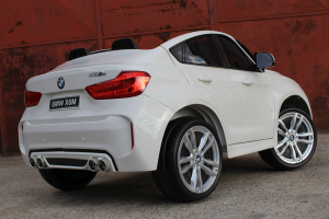 Masinuta electrica BMW X6M 12V XXL STANDARD #Alb5