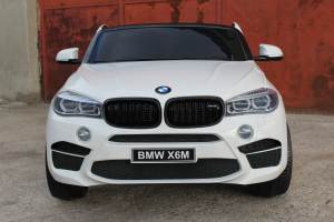 Masinuta electrica BMW X6M 12V XXL STANDARD #Alb8