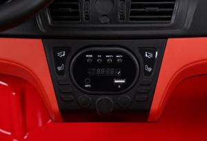Masinuta electrica BMW X6M 12V XXL STANDARD #Rosu [3]