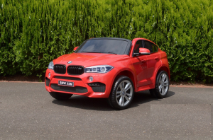 Masinuta electrica BMW X6M 12V XXL STANDARD #Rosu7