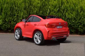 Masinuta electrica BMW X6M 12V XXL STANDARD #Rosu [4]