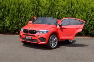 Masinuta electrica BMW X6M 12V XXL STANDARD #Rosu [8]