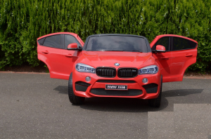 Masinuta electrica BMW X6M 12V XXL STANDARD #Rosu [6]